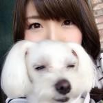 【朗報】新田恵海さん、愛犬と戯れる