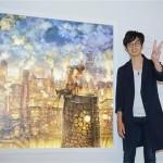 キンコン西野の作品を「エンジェル投資家」が1000万円で購入 高野山三宝院に奉納へ