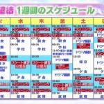 本田望結ちゃん(12)の一週間のスケジュールwwww