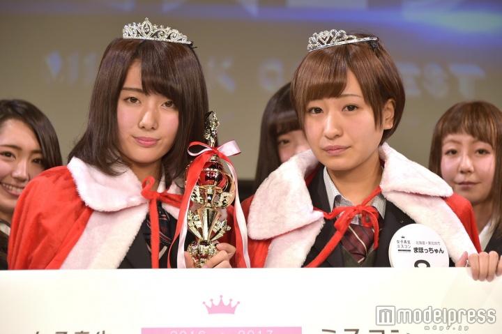 """【画像】""""日本一かわいい女子高生""""ミスコン、全国6エリア代表者が決定"""