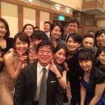 【画像】狩野恵里アナの結婚式が美女揃い