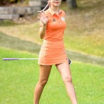 """【画像】韓国一 """"セクシーな美人ゴルファー"""" アン・シネ、日本メディアも注目"""