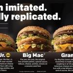 ビッグマックより大きい「グランドマック」、全米で提供へ