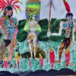 美ショタのバロン・トランプ君(10)の描いた絵、ガチですごい