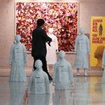 【画像】韓国、国会に大量の慰安婦像を設置