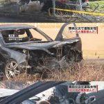 【悲報】ベンツで事故った女、車が燃えてるのに居酒屋直行してビール飲む