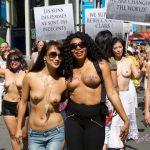 外国人「なぜ女性は上半身裸になったらダメなの!?💢」おっぱいぷるーん!