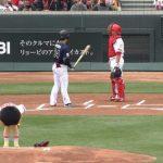 【画像】野原しんのすけ(5)、広島で始球式をする