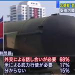 日本人「北朝鮮と話し合おう!武力行使よくないよ」→70%wwwwww