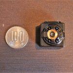 100円玉サイズのバッテリー内臓フルHDカメラwwww