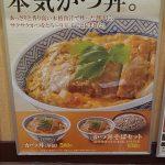 吉野家の「そば屋の本気かつ丼」が美味そうwwwww