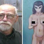 画家「私は巨乳のエイリアンに童貞を奪われた」
