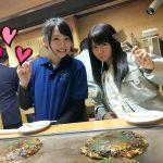 【悲報】竹達彩奈さん、お好み焼きのサイズで食いしん坊だとばれる