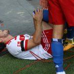 【悲報】サッカー選手、開幕戦でゴールパフォーマンスに失敗、靭帯断裂でシーズンが終わる