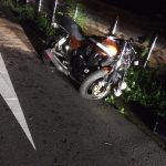 【閲覧注意】バイク乗り、事故してタイヤに自分の骨が突き刺さる