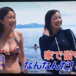 【画像】ダーツの旅でドスケベな体の素人娘が映る