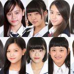 【画像】日本一かわいい女子中学生「JCミスコン」のファイナリスト10人が発表される