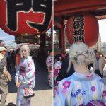 【画像】白人女性が着物を着た結果wwwwww