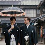 【画像】日本人とアメリカ人のゲイカップル、金沢で結婚式を挙げるwwwww
