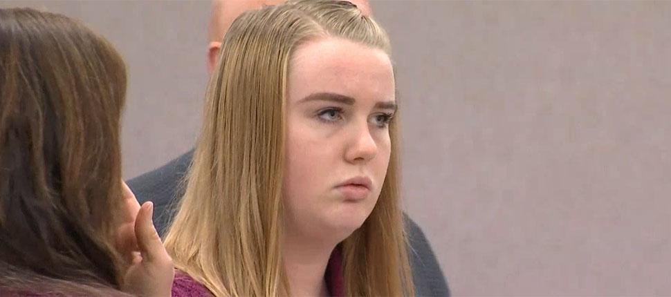 【画像】美人ブロンドJD(18)、黒人の歯ブラシをケツ穴に突っ込んだ罪で逮捕