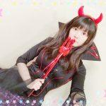 【画像】声優・竹達彩奈さん(28)、悪魔のコスプレをしてしまうwwww