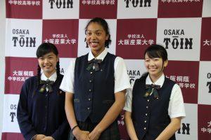 ガーナハーフの身長185センチ竹原レイラさん、高校女子バスケで無双する