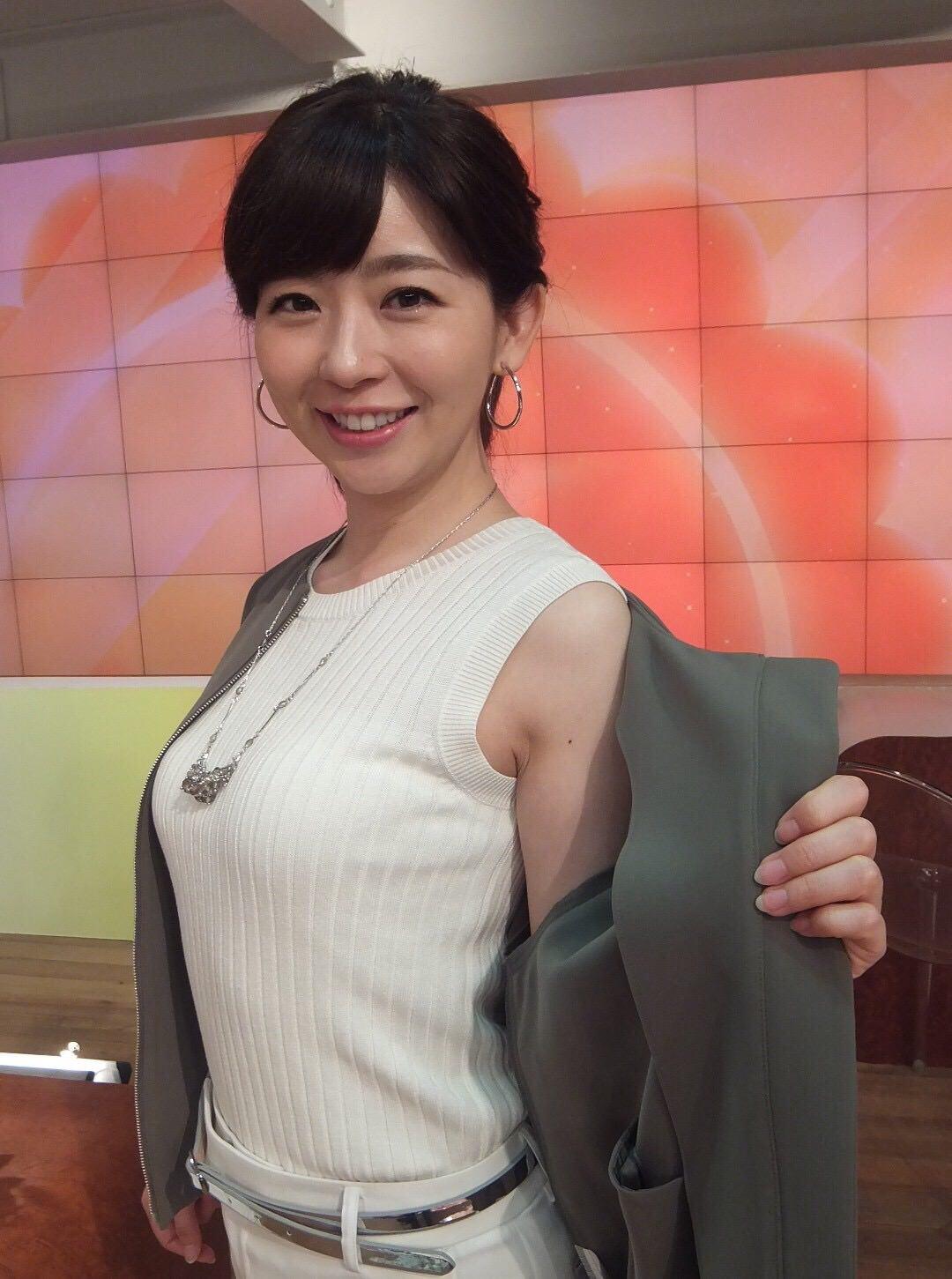 松尾由美子アナ(38)「よく寝てる間に着てるモノがはだける」