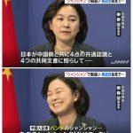 【悲報】中国外務省、パンダのシャンシャンのことを聞かれて不機嫌になる