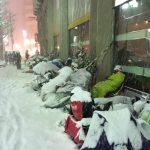 【画像】北海道の福袋待機列、凍死寸前