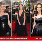 ハリウッド女優「セクハラへの抗議で黒ドレスにする(胸の谷間ミセッ」