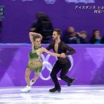 【朗報】アイスダンスで乳首ポロリしたフランス美女、世界歴代最高得点で銀メダル獲得