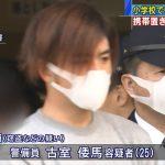 【顔画像】超絶イケメン警備員(25)がJSの体操服を盗んで逮捕