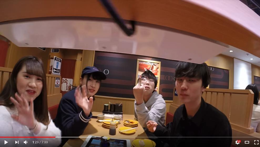 【動画】白人youtuber「せや!回転寿司にカメラのせたろ!」 イキリ「!!!」