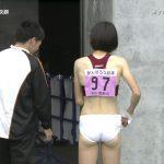 【画像】エロエロ陸上JK「頑張ろう日本」