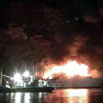 【画像】加山雄三さんの船、大炎上