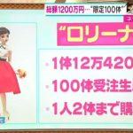 【朗報】高島屋のロリーナ人形再販確実で転売屋さん1200万円の大赤字に!!!!!
