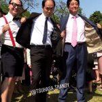 【画像】 安倍晋三さん、うっかりトレンディエンジェルに加入してしまうw