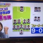 【画像】女子、とんでもないサッカー日本代表のフォーメーションを組む