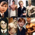 【画像】ハリーポッターに出演してた少年たち、みんなムキムキになってしまう…