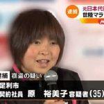 マラソン原裕美子被告「万引きしたのは選手時代に体重制限をやらされたから」