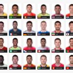 【画像】W杯出場チームの各国の平均顔が公開されるwww