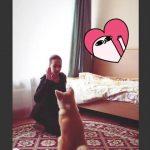 【動画】秋田犬マサル、お座りできたよ ザギトワ選手が動画投稿
