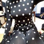 【画像】Jカップ女子「下着付けずにZOZOスーツ着てみました」