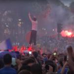 【画像】フランス決勝進出の瞬間のパリwww