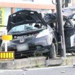 中学生のクソガキ、無免許運転で1人死亡、4人重症の事故を起こしてしまう