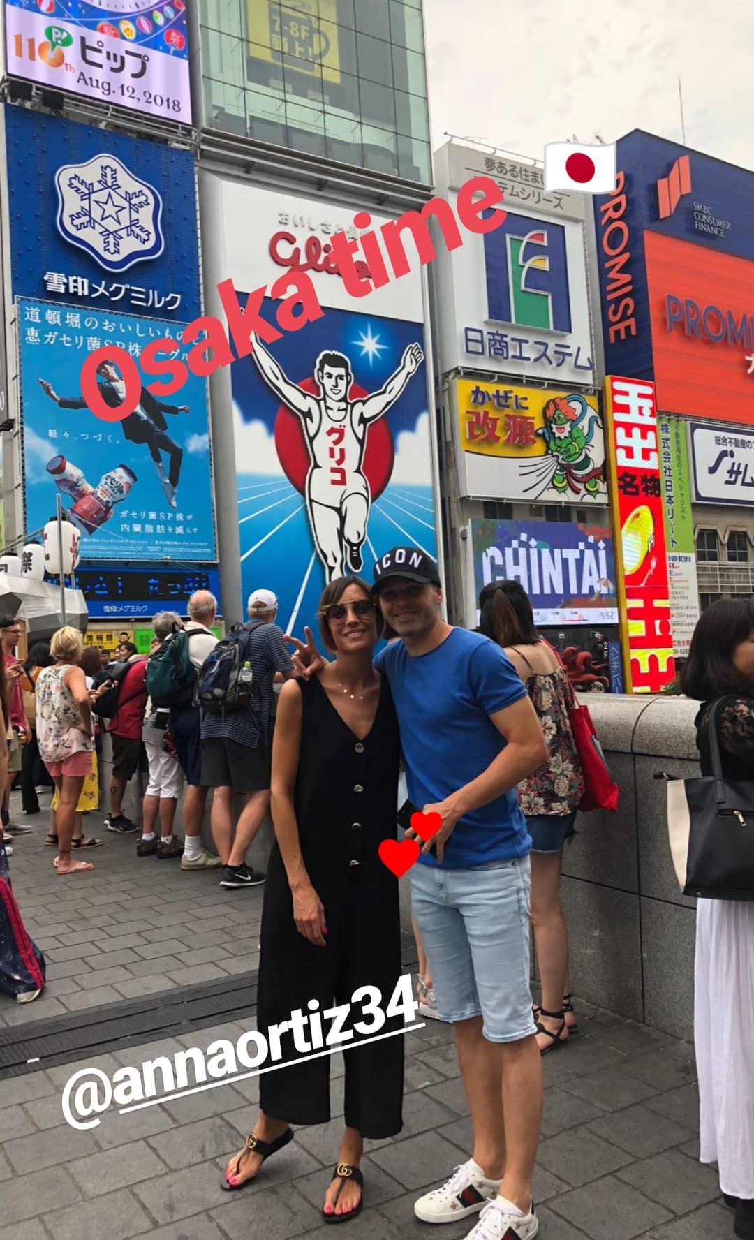 【画像】イニエスタ、大阪観光をする