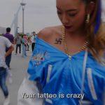 【画像】まんさんのタトゥー、外国人にクレイジーだと酷評される