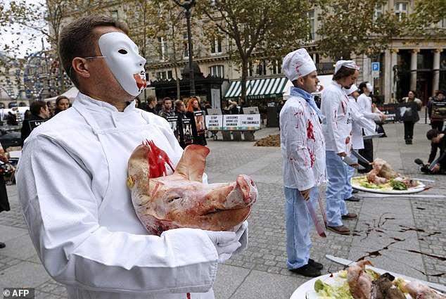 ヴィーガン集団が過激化。食肉処理場を放火、肉屋へレンガを投石破壊「食肉主義者は差別主義」