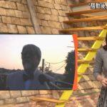 【画像】テレ朝の貧乳アナ、縦ニットで男を騙す
