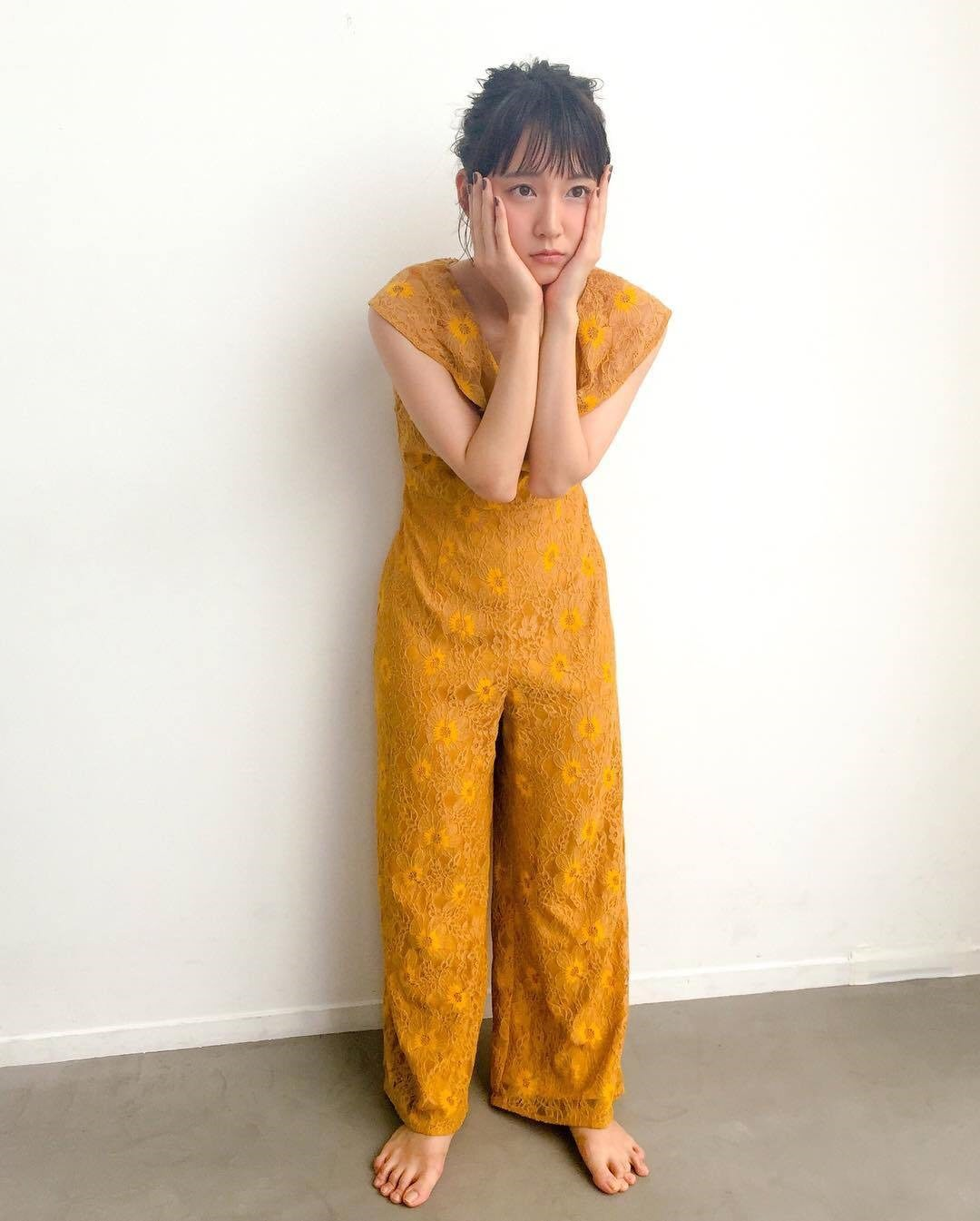 【画像】吉岡里帆、足の指がグチャグチャ